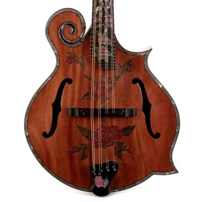 Used Blueberry F-Style Mandolin Natural for sale