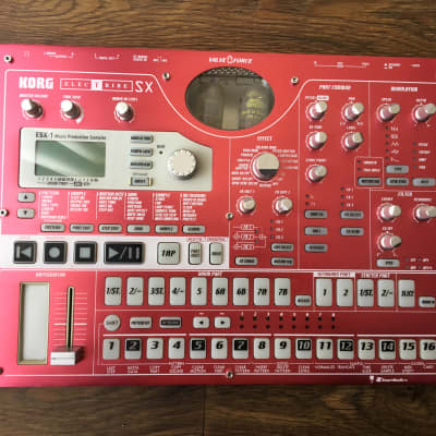 KORG Electribe ESX-1SD-Excellent With Extra Samples and | Reverb