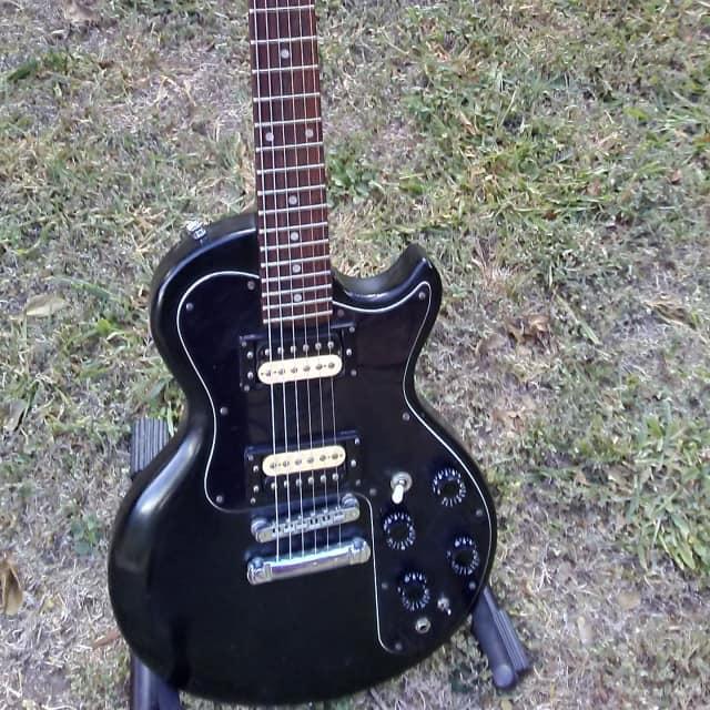 Gibson Sonex-180 Custom 1981 Black Original Case & Paperwork image