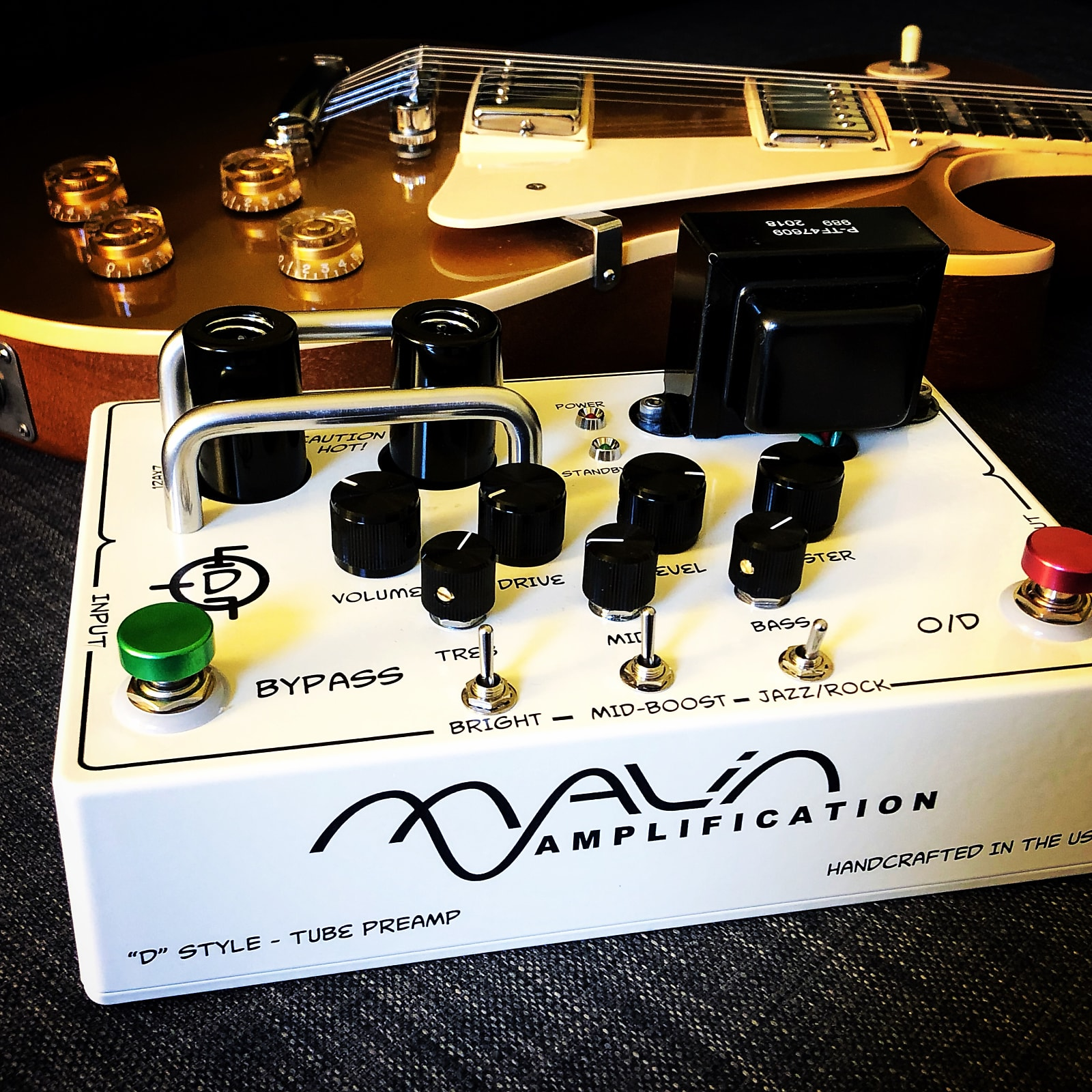 Malin Amplification Dumble clone Pre-amp (Ser 183 clone) - Hand Wired