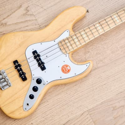 2002 Fender Jazz Bass '75 Vintage Reissue Ash JB75-90US Japan CIJ, USA Pickups for sale