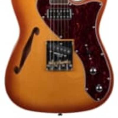 Revelation TSS electric guitar honey burst short scale for sale