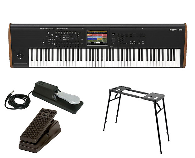 Korg KRONOS 2 88 + Stand + Sustain & Expression Pedal