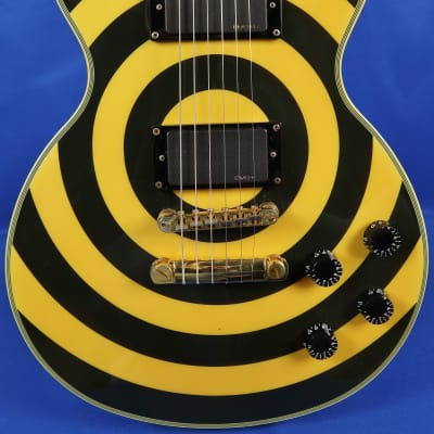 2006 Epiphone Zakk Wylde Les Paul Custom Bullseye Electric Guitar w/ Gig Bag for sale