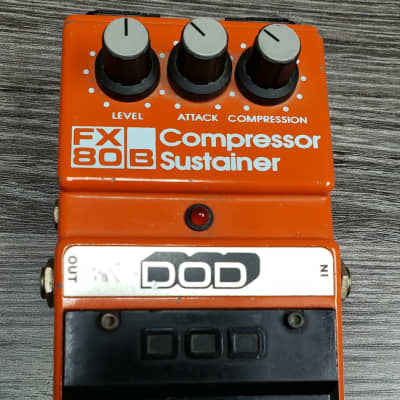 DOD FX80B Compressor Sustainer Pedal W/ Box