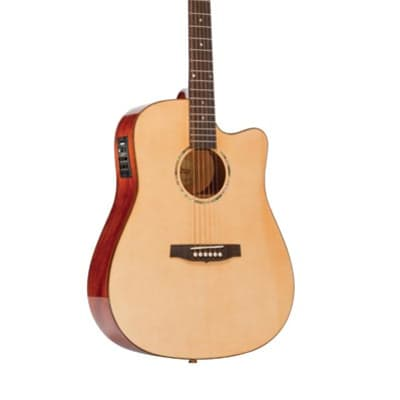 Monterey MW-715C All-Solid Electric Acoustic w/Fishman Aero Pickup for sale