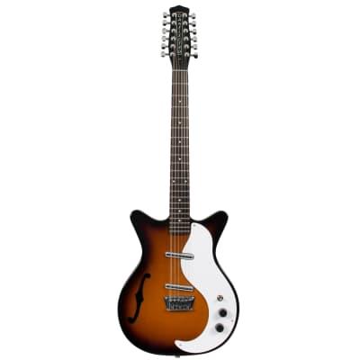 Danelectro DC59 TSB 12-Saiter E-Gitarre for sale