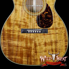 2015 Martin 000-28K Authentic 1921 Highly Flamed Koa Natural
