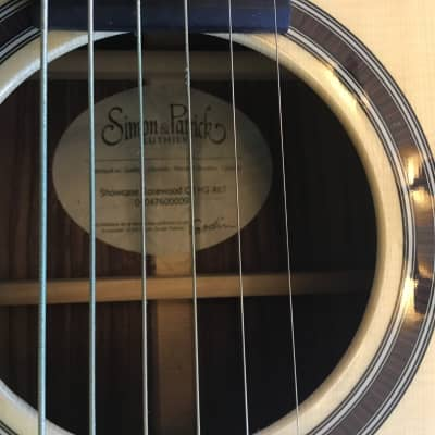 Simon & Patrick Showcase rosewood concert hall acoustic electric guitar 2017 Natural for sale
