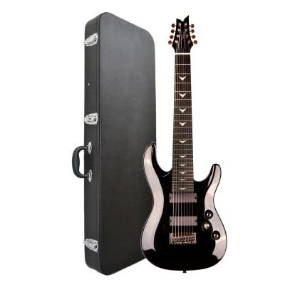 Artist Indominus8 8 String Electric Guitar - Black Chrome + Black Case for sale