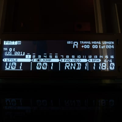 LED Display Upgrade - Yamaha RM1X Custom (Negative) Tri-Axis LED Display !