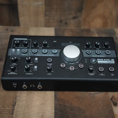 Mackie Big Knob Studio+ Plus Monitor Controller / Interface | As-is | Unit Only