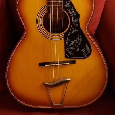 Decca 247 Sunburst Acoustic Guitar-Vintage 1960's for sale