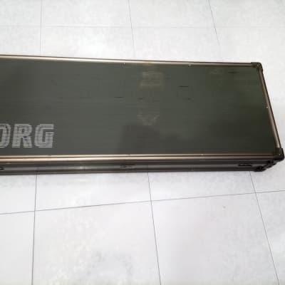 Korg KORG M1 HC-M1 HARD CASE 1988 GREY GREEN TOPO