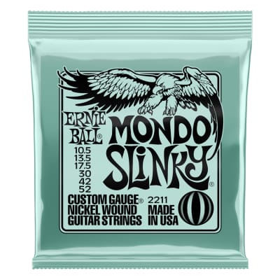 Ernie Ball 2211 Nickel Wound Mondo Slinky 10.5 52