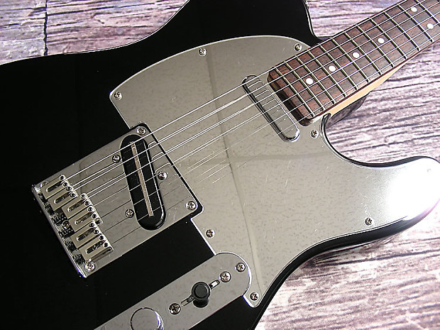 2004 squier by fender black chrome standard telecaster reverb. Black Bedroom Furniture Sets. Home Design Ideas