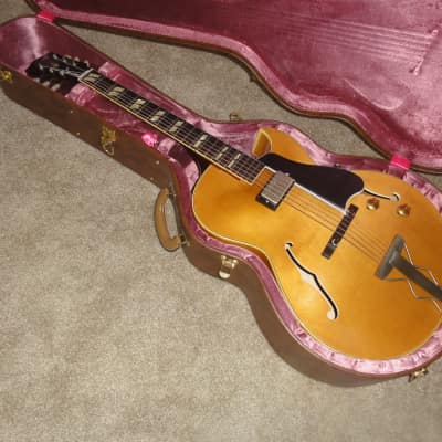 GIBSON ES175 SINGLE PICKUP MEMPHIS 1959 NATURAL BLONDE w/ BROWN CASE VOS N.O.S. 2015 Natural for sale