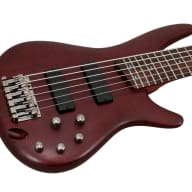 Ibanez SR506 BM 6 String Brown Mahogany Electric Bass for sale