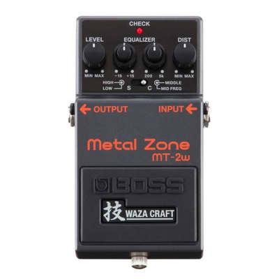 Boss MT-2W Metal Zone Waza Craft Distortion Pedal image