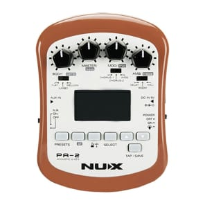NuX PA-2 Portable Acoustic Guitar Multi-Effect