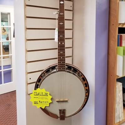 Flinthill Banjo, FHB-250, 5-String w/ Resonator, 2010's comes w/ Hardcase for sale