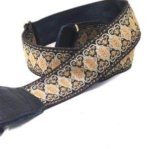 Souldier GS0112BK05BK Persian Black Tapestry Guitar Strap