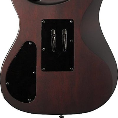 Washburn PXM20FRFBCBM Parallaxe Solid-Body Electric Guitar - FLAME BLACK CHERRY
