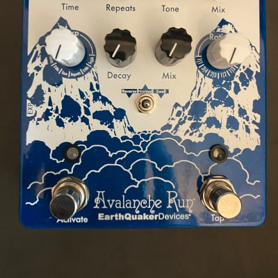 EarthQuaker Devices Avalanche Run Stereo Delay & Reverb with Tap Tempo V2