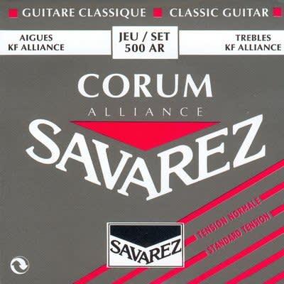 Savarez Corum Alliance - Normal Tension Classical Guitar Strings - Alliance Trebles