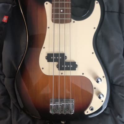Gorgeous Vintage Fullerton Bass Guitar w/ Strap - In Very Good Condition! for sale