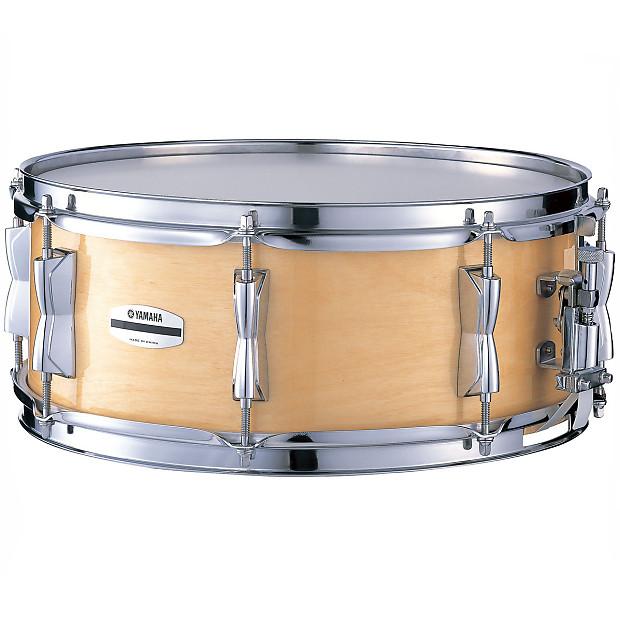 yamaha stage custom birch snare drum natural finish reverb. Black Bedroom Furniture Sets. Home Design Ideas