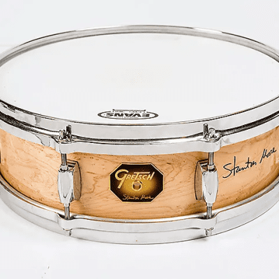 "Gretsch SM451148DS Stanton Moore Signature 4.5x14"" Solid Birdseye Maple Snare Drum"