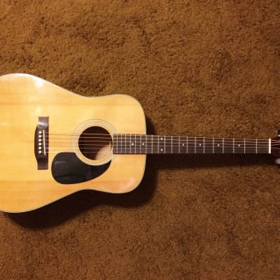 Fannin D-37 Acoustic Guitar  80's natural MIJ for sale