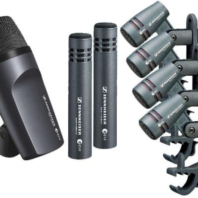 Sennheiser DrumKit 600 e600 Drum Kit Microphone Package