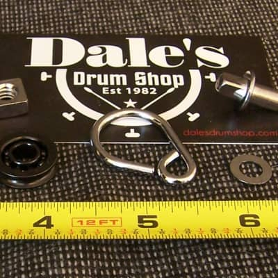 Drum Workshop DW drums hardware Parts DWSM018-3 Hook Bolt and Roller for bass drum pedals