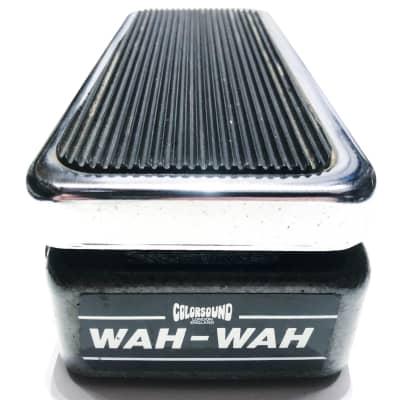 Vintage Colorsound Wah Wah Original Sola Sound 1970s Guital Pedal for sale