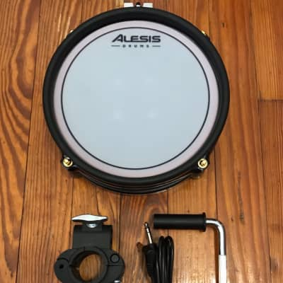 "Alesis Red 8"" Mesh Drum Pad Dual-Zone Crimson SE E-Drums Electronic DM10 Strike Surge Command"