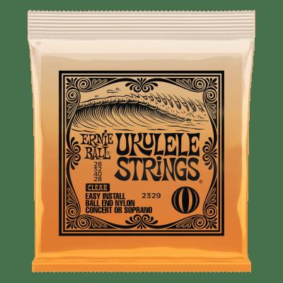Ernie Ball Ukulele Ball End Nylon Strings Clear Concert/Soprano