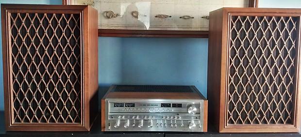 Pioneer SX 1080 1978 Silver/wood | HiFi Rewind