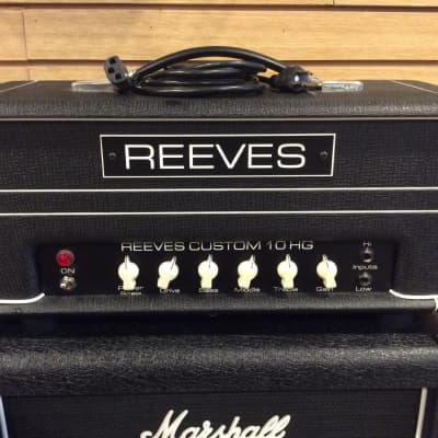 Reeves Custom 10 HG Head Black w/ Power Scaling for sale