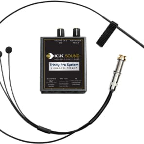 K&K Sound Trinity Mini Pro Guitar Pickup System
