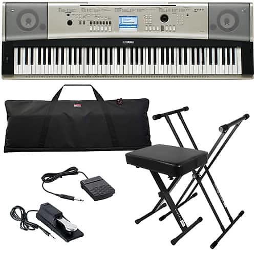 Yamaha ypg 535 portable grand keyboard stage essentials for Yamaha ypg 535 weighted keys