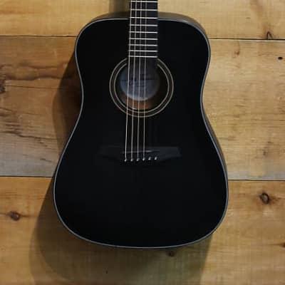 Jay Turser 3/4 Size Acoustic Guitar JTA53-SBK Satin Black NEW for sale