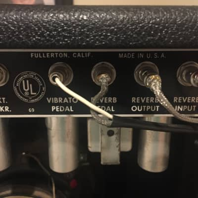 Fender Princeton Reverb 1966 Blackface for sale