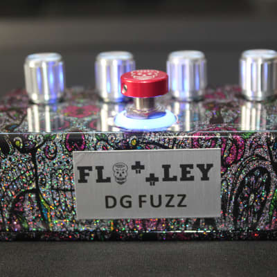 End of Line Flattley Guitar Pedals DG Fuzz Pedal