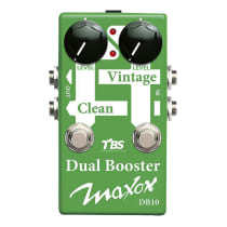 Maxon DB10 Dual Booster 2010s Green image