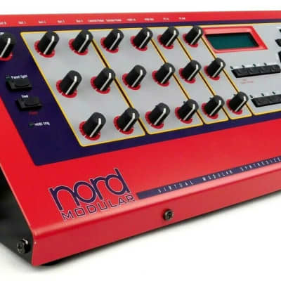 Clavia Nord Modular Synthesizer DSP Synth High-End MIDI + Neuwertig + Garantie