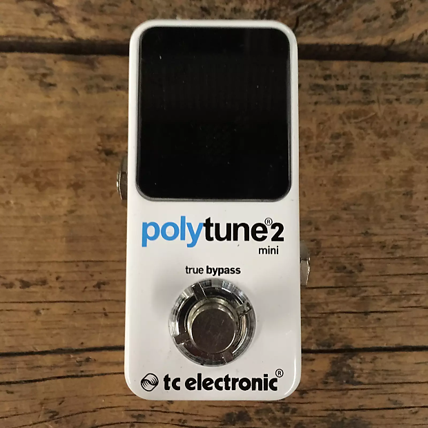 5d437d7bc22a31 TC Electronic PolyTune 2 Mini Tuning Pedal Price Guide