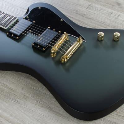 ESP LTD Bill Kelliher Sparrowhawk Electric Guitar Military Green Sunburst Satin for sale
