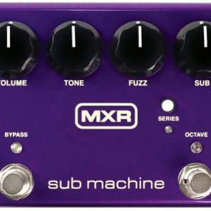 MXR M225 Sub Machine Octave Fuzz True Bypass Guitar Effect Pedal for sale